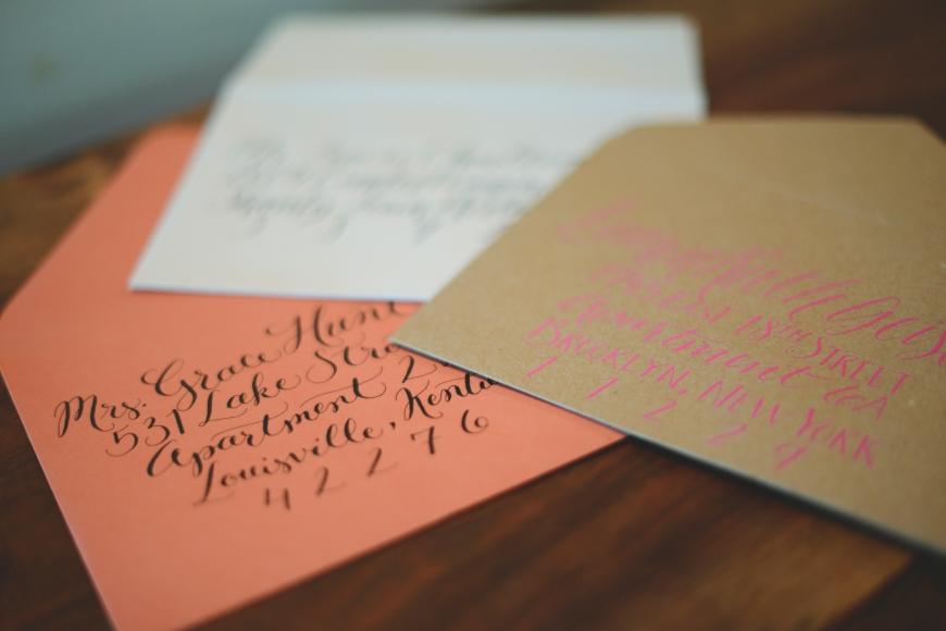 Nashville Calligrapher Esque Script